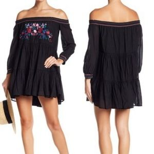 NWT Free People Embroidered Sunbeams Minidress